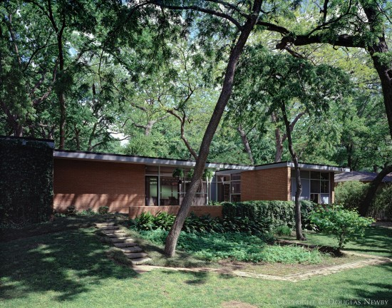 Architect Glenn Allen Galaway designed home which was renovated by architect Cliff Welch
