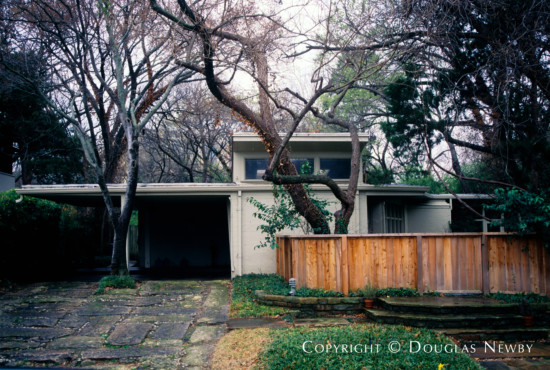 House Designed by Architect Ralph Merrill - 3520 Rock Creek Drive