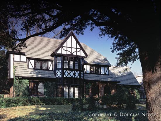 Tudor Residence Designed by Architect Wes Harder - 3629 Cragmont Avenue