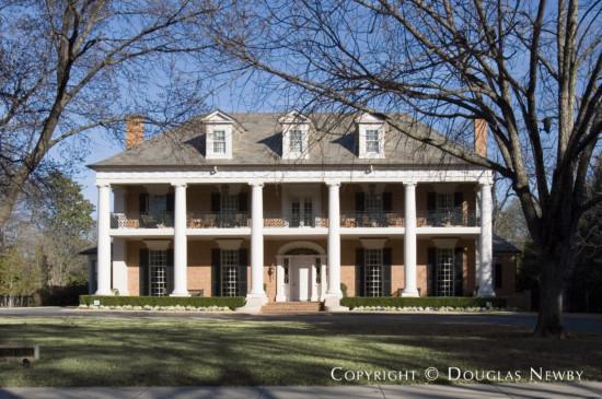 Estate Home Designed by Architect Richard Drummond Davis - 6930 Turtle Creek Boulevard