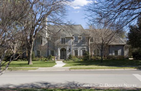 Home Designed by Architect Larry Boerder - 6508 Turtle Creek Boulevard