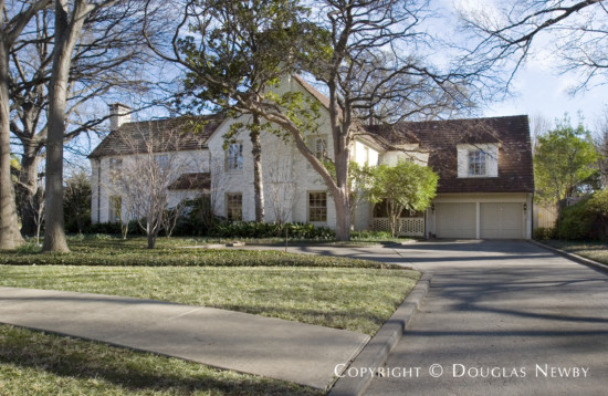 Home Designed by Architect Horace S. Avery - 6815 Hunters Glen Road