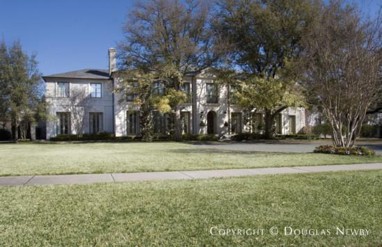 Estate Home Designed by Architect Wilson Fuqua - 3940 Glenwick Lane