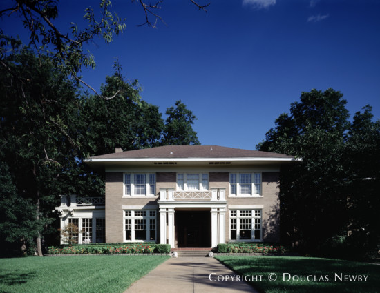 Home Designed by Architect C.P. Sites - 4918 Swiss Avenue