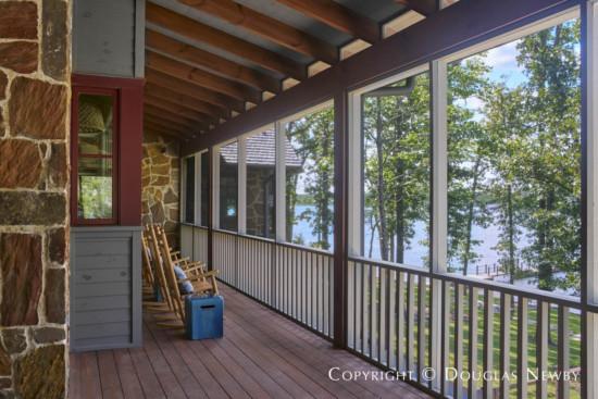 Contemporary Interpretation of Ranch Porch
