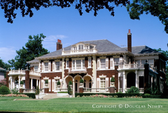 Significant Italian Renaissance Home Designed by Architect Henry B. Thomson - 5439 Swiss Avenue