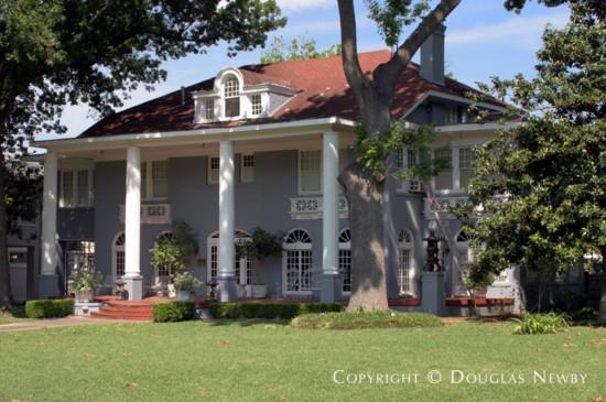 Residence Designed by Architect Bertram C. Hill - 5619 Swiss Avenue