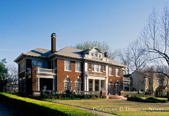 Residence Designed by Architect Bertram C. Hill - 5736 Swiss Avenue