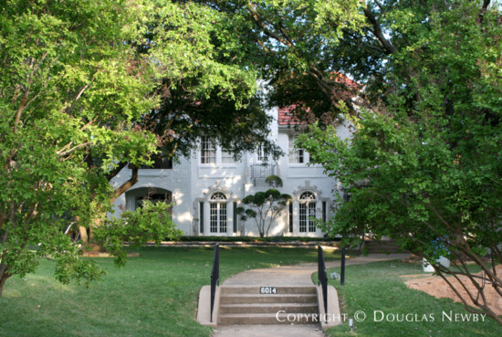 Home Designed by Architect Bertram C. Hill - 6014 Swiss Avenue