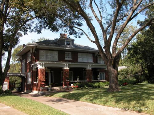 Residence Designed by Architect E. Ross Chandler - 6017 Swiss Avenue