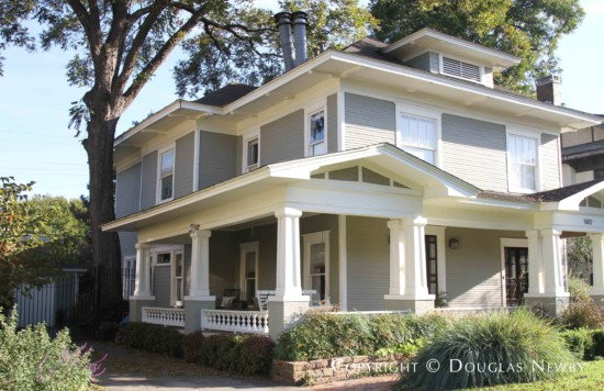 Original Home in Munger Place Historic District