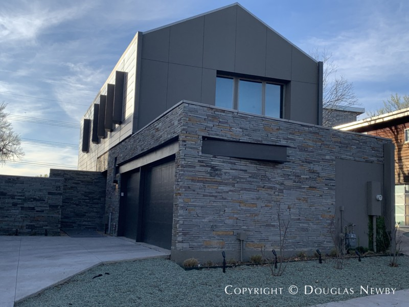 Architect Mark Domiteaux Designed Modern Residence at 23 Vanguard Way in Urban Reserve Neighborhood of East Dallas
