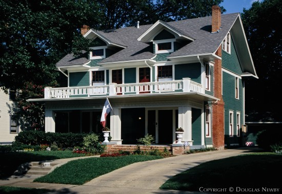 American Foursquare Real Estate in Munger Place - 5111 Victor Street