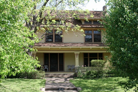 Home in Munger Place - 4940 Worth Street