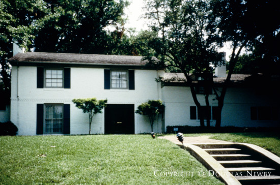 Residence Designed by Architect O'Neil Ford - 6342 Mercedes Avenue