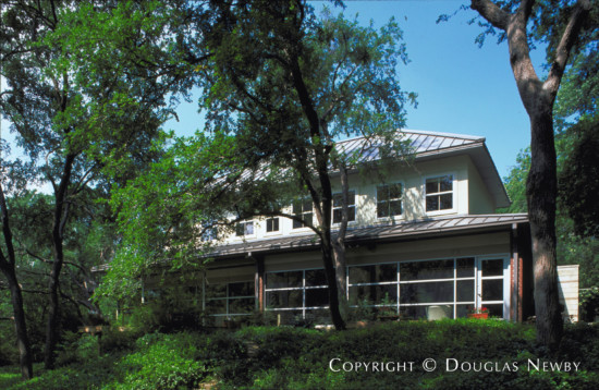 Significant Modern Home Designed by Architect Robert James - 10740 Saint Michaels Drive