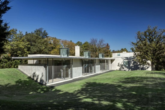 Photographs of Max Levy-Designed Addition
