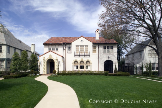 Significant Residence Designed by Architect Charles D. Hill - 3318 Beverly Drive